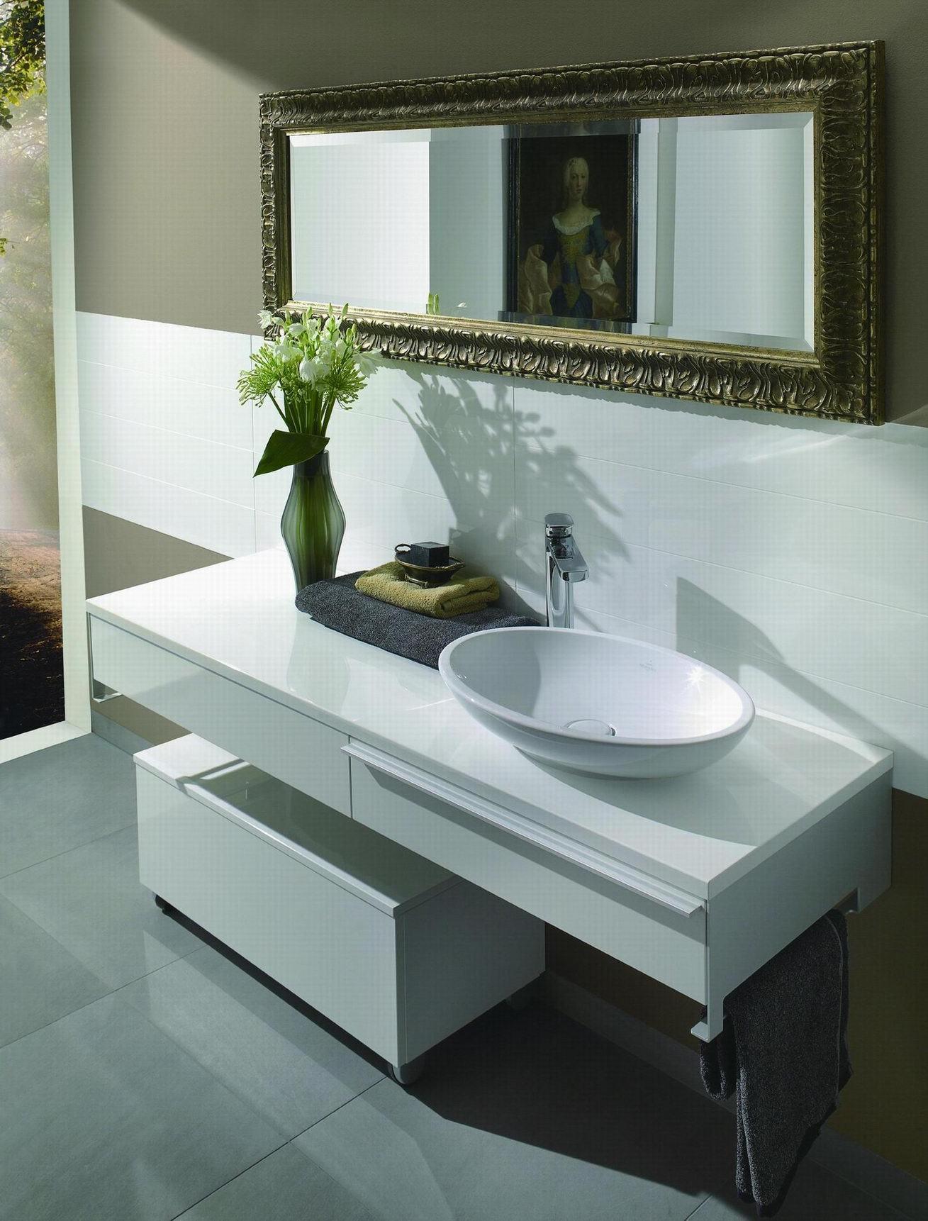 Armário De Banheiro Moderno Lustroso Britânico Do Mdf Tm305a  #616746 1309x1722 Balcao Banheiro Moderno