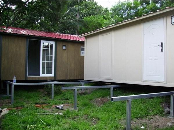 foto de casa pr  fabricada casa container escrit rio