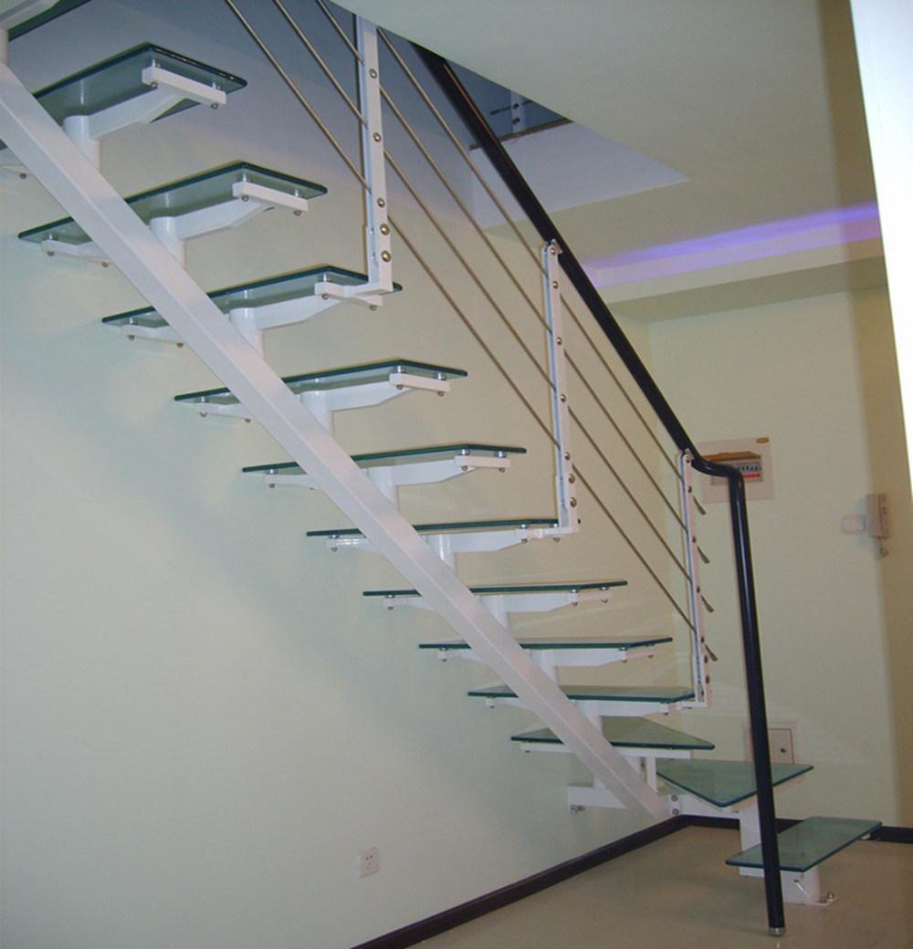 Vidrio templado straight escalera pr 2031 vidrio - Escaleras de cristal templado ...