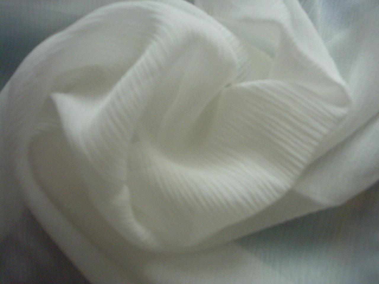 Tessuto georgette di seta