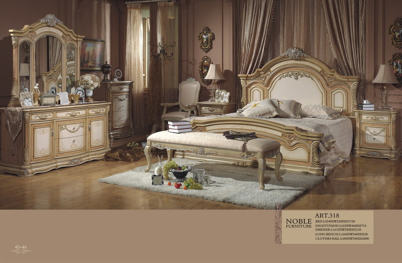 Meubles classiques de chambre à coucher (318) –Meubles classiques ...