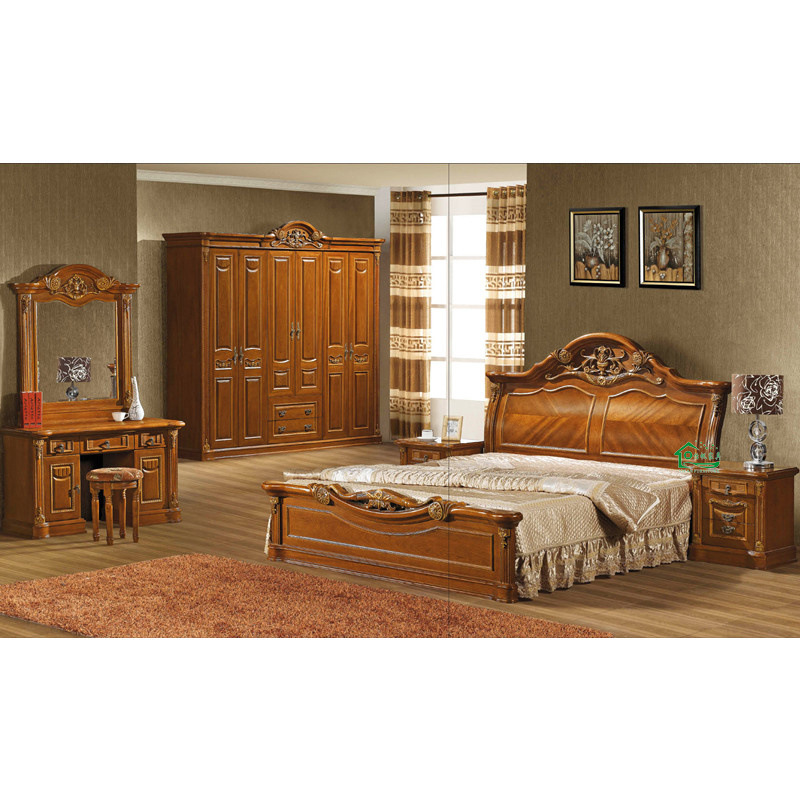 Dormitorio furniture con wood bed para home furniture yf m886 dormitorio furniture con wood Xinlan home furniture limited