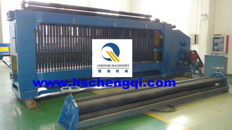 Machine automatique hydraulique de fabrication de fil de - Machine de fabrication de treillis a souder ...
