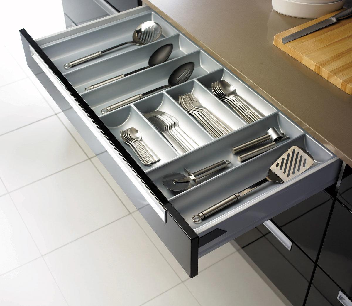 Meubles haute brillance de cuisine de module de cuisine for Module cuisine