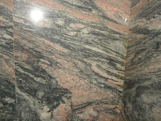 Colorado Red Granite : Tombstoneのための多色刷りのred granite slab