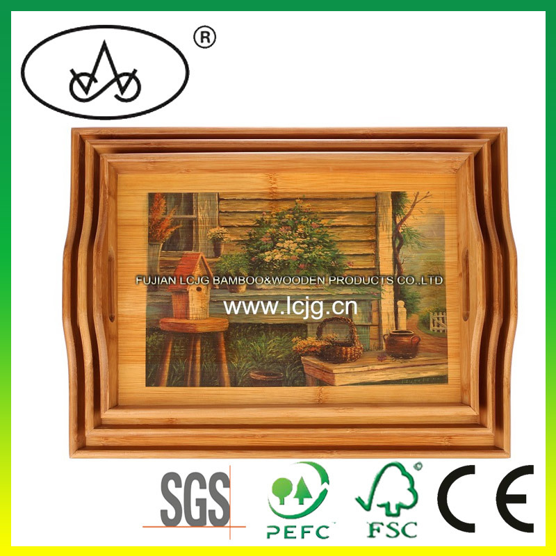 Table en bois portion plaque d corative pour h tel for Plaque decorative pour cuisine