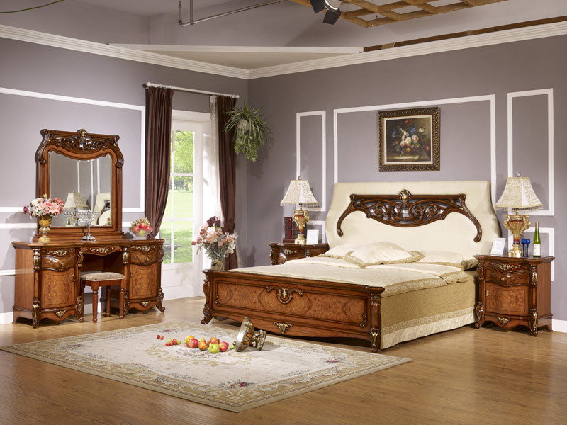 ensemble de chambre coucher wll 8836 ensemble de. Black Bedroom Furniture Sets. Home Design Ideas