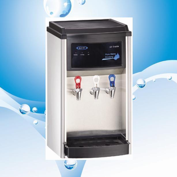 distributeur d 39 eau chaude et froide de partie sup rieure du comptoir distributeur d 39 eau chaude. Black Bedroom Furniture Sets. Home Design Ideas
