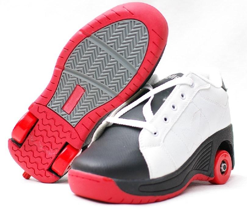 Deux chaussures de patin de roues nx 8 deux chaussures - Patin antiderapant chaussure ...