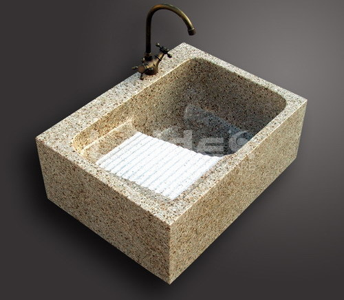 Fregadero de cocina del granito 682 ld k011 fregadero - Fregadero de granito ...