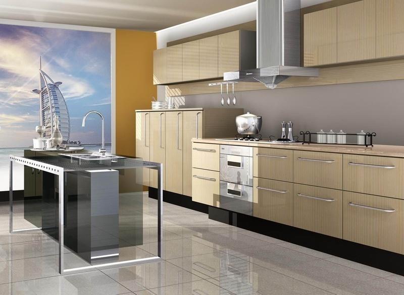 Gabinetes de cocina de la melamina baldwin gabinetes for Gabinetes de cocina en mdf