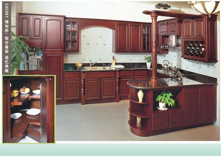 Cabinet De Cuisine De Cerise Em001 Cabinet De Cuisine