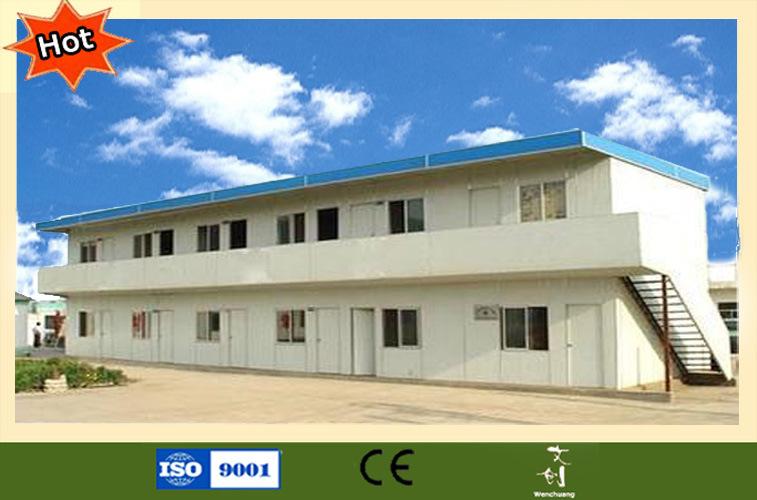 Prefab huis met goedkope prijs voor slaapzaal en kantine for Goedkope prefab woningen