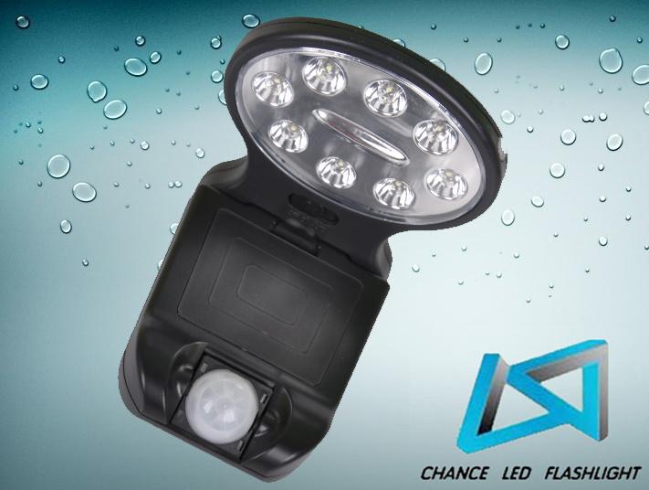 Luz del sensor de movimiento de 8 led luz del sensor de - Luz sensor movimiento ...