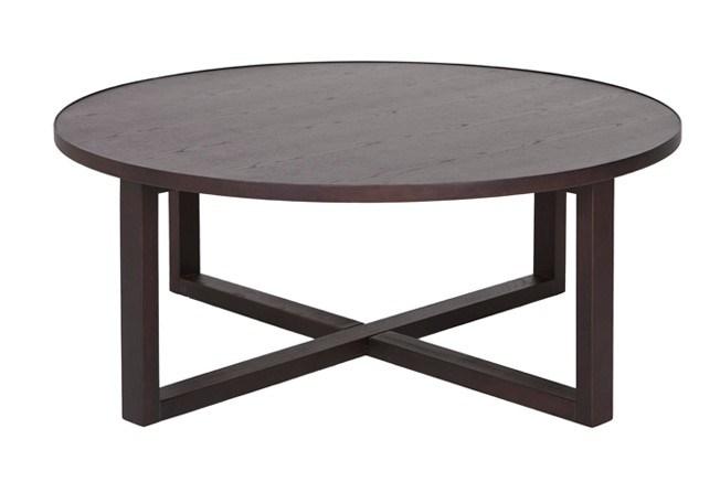 Mesa de centro redonda de madera del nuevo dise o mesa - Mesas redondas de diseno ...