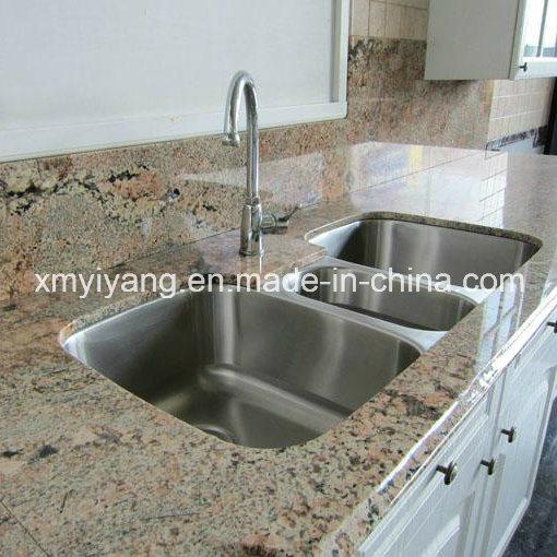 Pulido blanco granito para cocina ba o yqc gc1002 for Modelos de marmol y granito