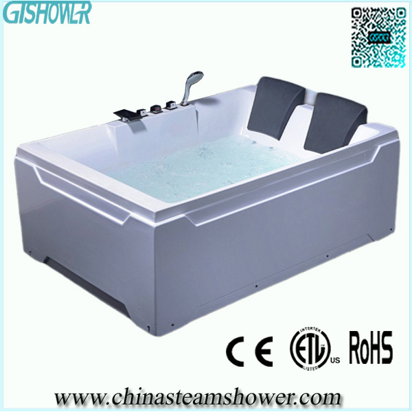 Double baignoire de massage d 39 aqua kf612r double baignoire de massage d 39 aqua kf612r fournis Tapis de massage pour baignoire