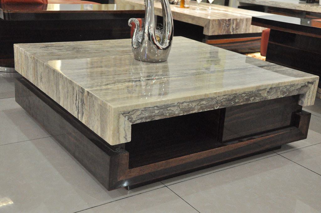 Tavolini da salotto di marmo moderni di newland nl k028b for Tavoli moderni da salotto