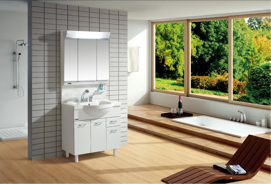 Baño Japones Moderno:Gabinete del espejo del cuarto de baño del estilo japonés (Q90