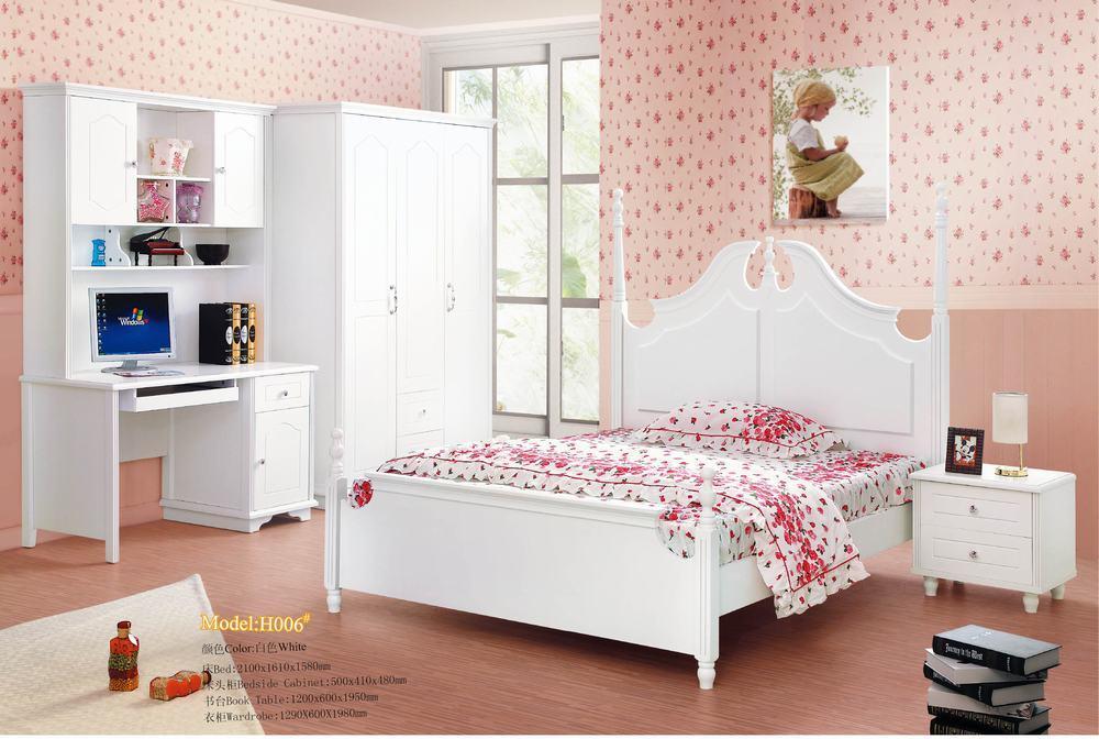 Het meubilair van de slaapkamer van het kind n f h0070 het meubilair van de slaapkamer van - Pastel slaapkamer kind ...