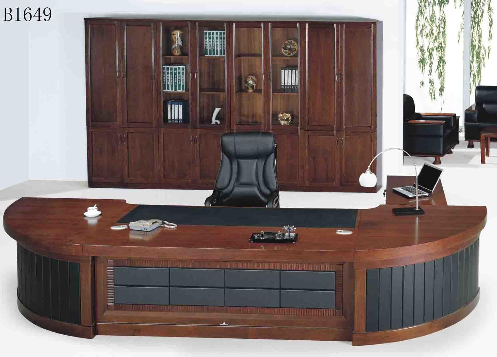Escritorio ejecutivo b1649 de los muebles de oficinas de for Escritorio ejecutivo