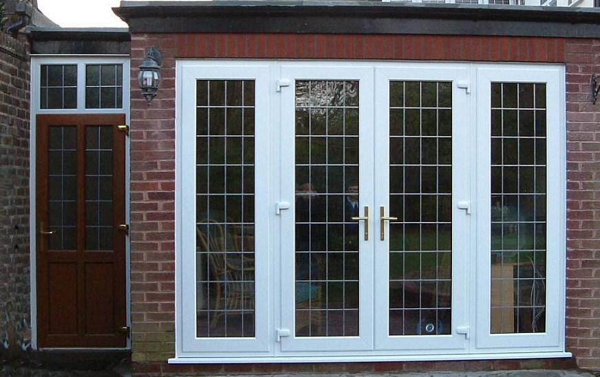 Puertas de aluminio del patio dw puertas de aluminio - Puertas para porches ...