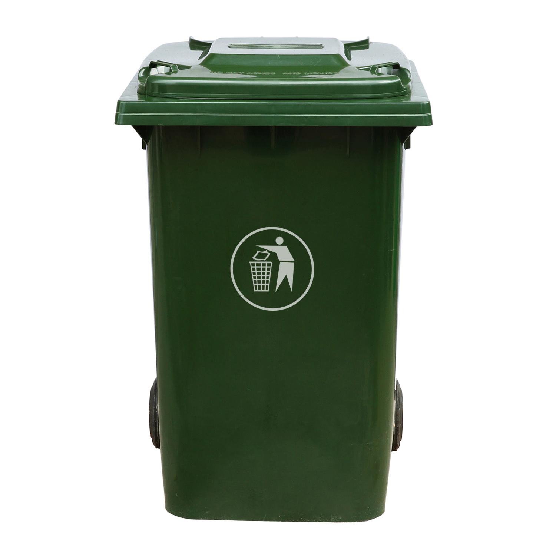 Cubo de basura 240l bote de basura pl stico fs 80240c - Cubos de basura ...