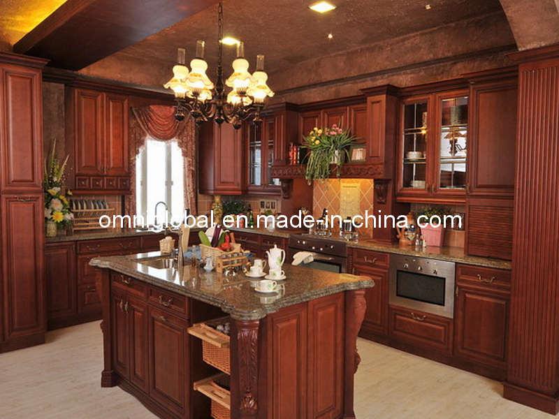Armadio da cucina americano di solidwood di stile armadio da cucina americano di solidwood di - Cucine stile americano ...