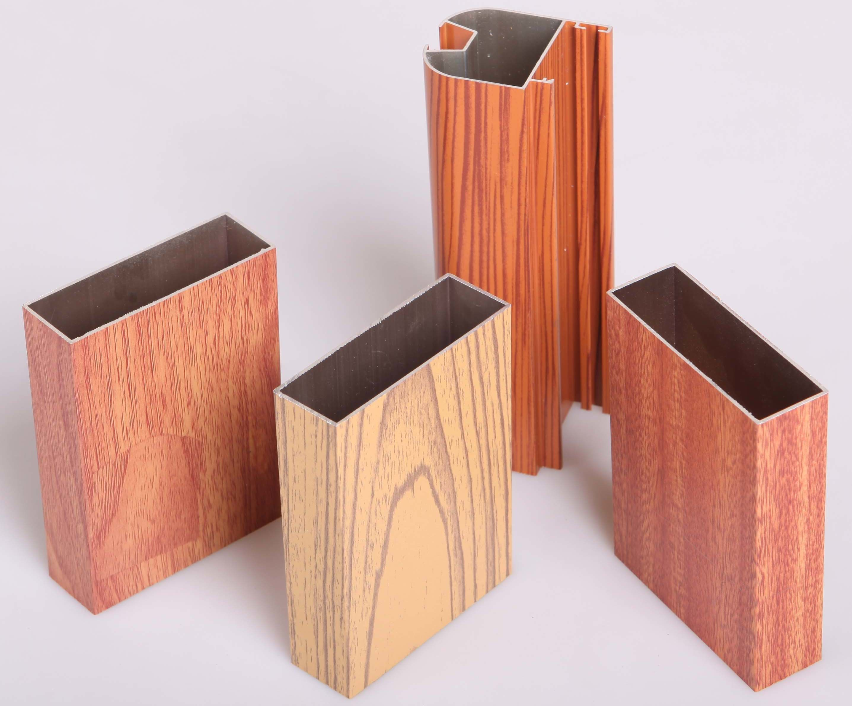 #AF601C para a cor de madeira –Perfil de alumínio para a cor de madeira  1698 Janela De Aluminio Na Cor De Madeira