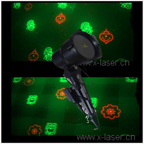 Decoration de noel exterieur laser for Eclairage de noel laser