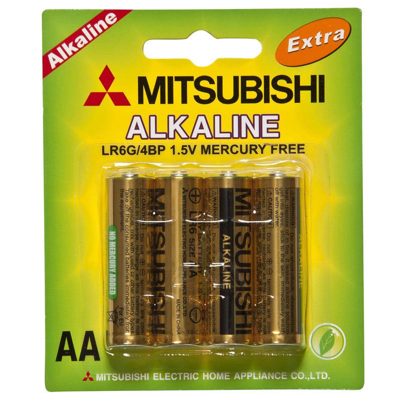 Pile alcaline 1 5v de lr6 aa mitsubishi dry pile alcaline - Pile 1 5v ...