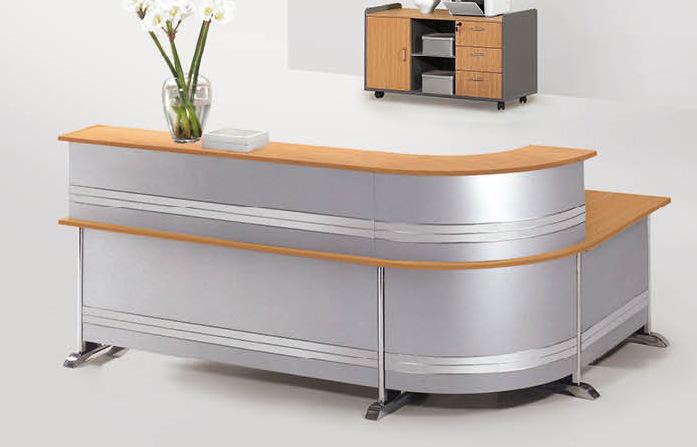 Escritorio de recepci n especial del arco ep dy c q20226 for Lista de muebles de oficina
