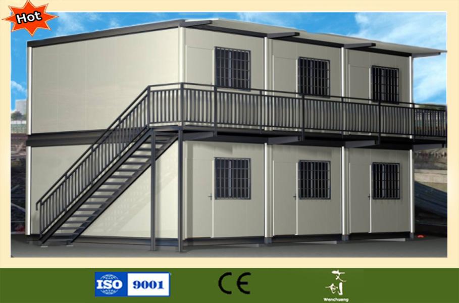 Casa prefabricada ligera eficiente de la estructura de - La casa prefabricada ...
