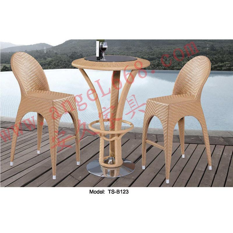 Moderne Freizeit Outdoor Rattan Patio Garden Dining Bar Tisch ...