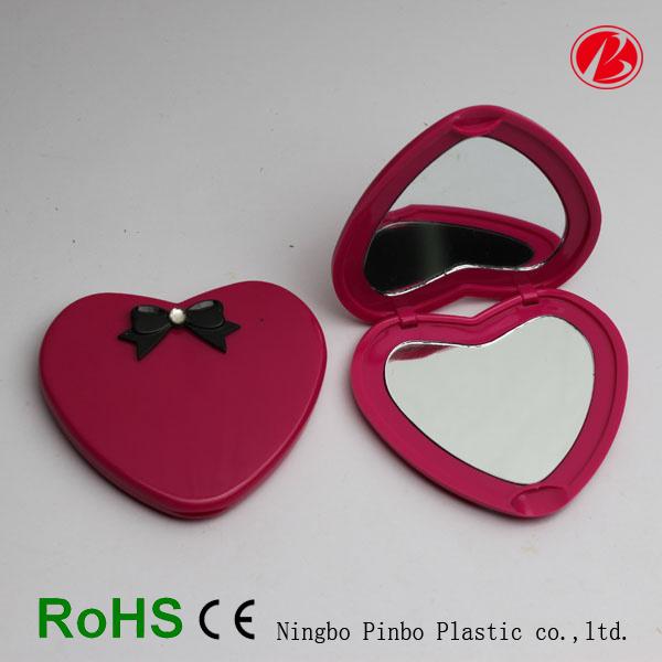 De kleine spiegel van het hart van de zak plastic pt7369 for Door het hart van china
