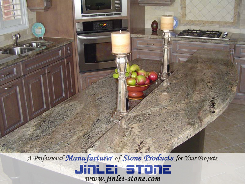 American style granite kitchen countertop american style granite kitchen countertop fournis par - Comptoir cuisine americaine ...