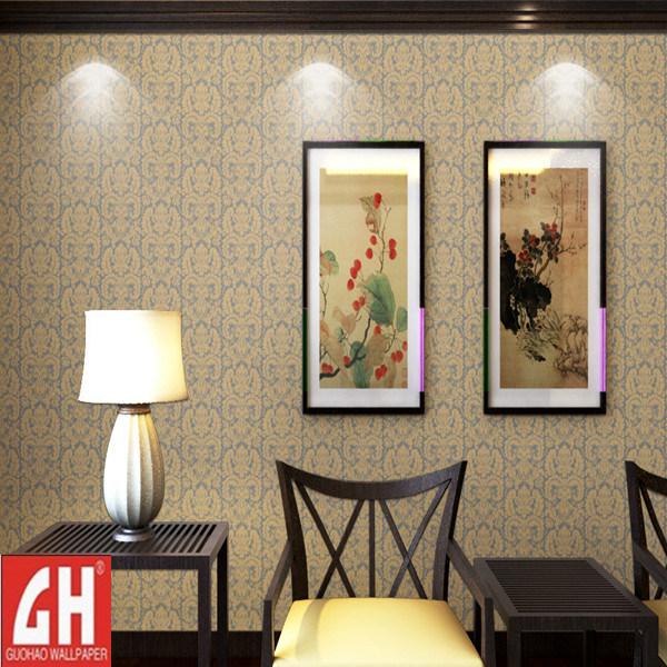 Recubrimiento de paredes elegante del pvc de la decoraci n - Recubrimiento para paredes ...