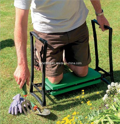 Aide De Jardinage De Pliage De Rondelle De Genou De Si Ge