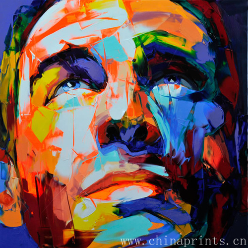 co visionxm product Abstract Face Iamges Painting on Canvas eurnsoysg