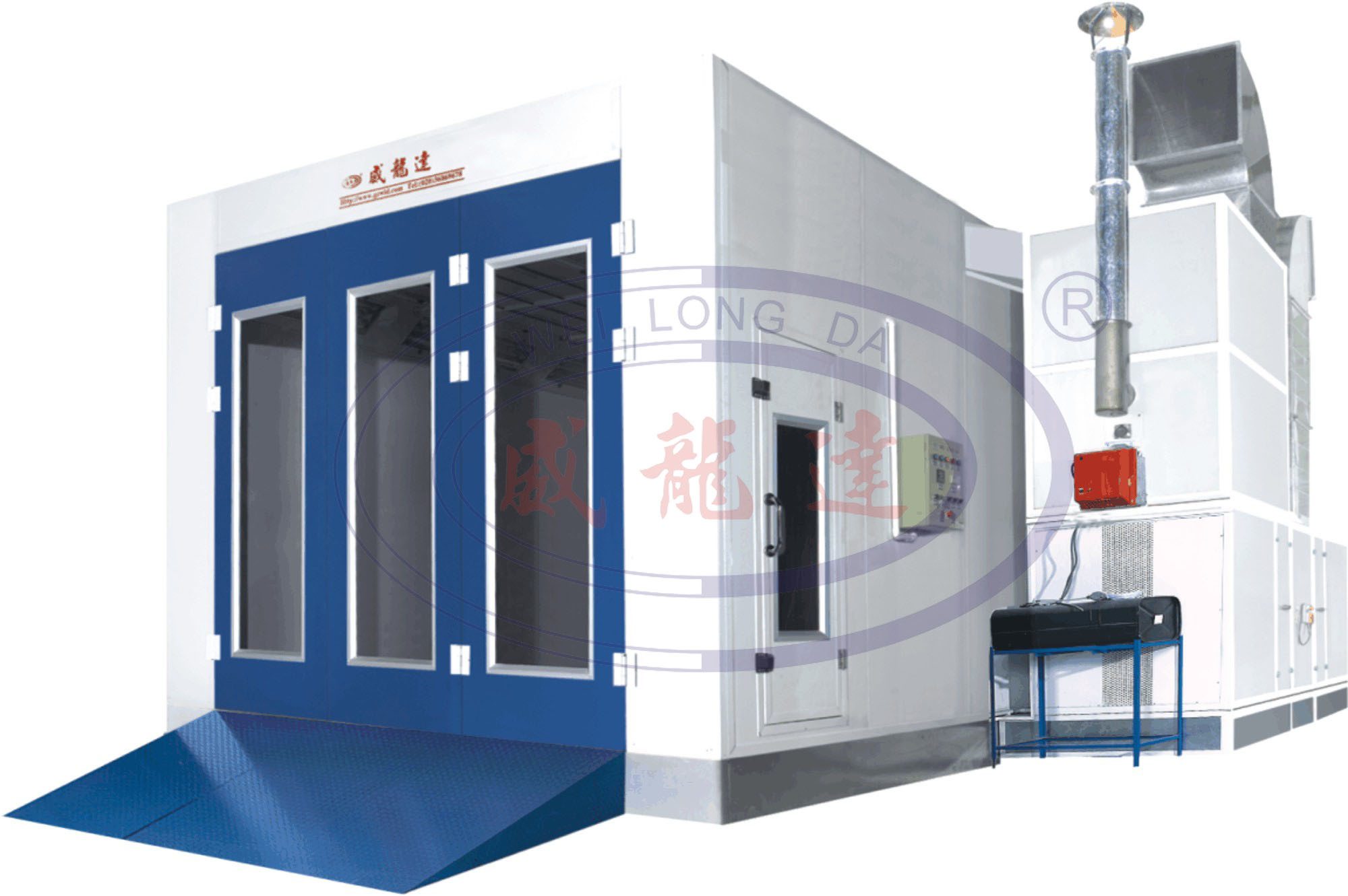 Wld9000 Best Quality Paint Booth Car Spray Booth Painting Wld9000 Best Quality