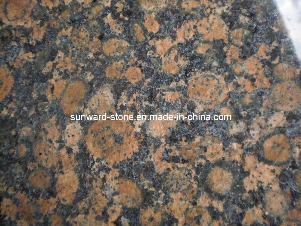 De baltische bruine tegel van het graniet de baltische for Bruine tegels