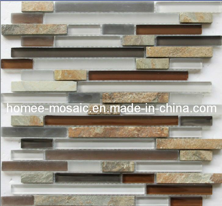Azulejo de mosaico de cristal de backsplash de la cocina - Azulejos de cristal ...