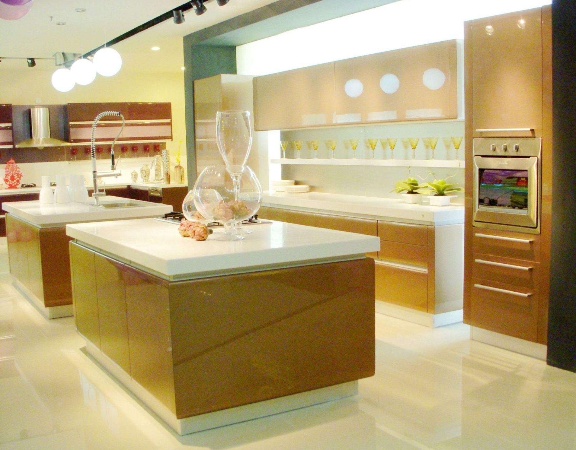 Cocer al horno los muebles de la cocina de la pintura - Pintura para muebles de cocina ...