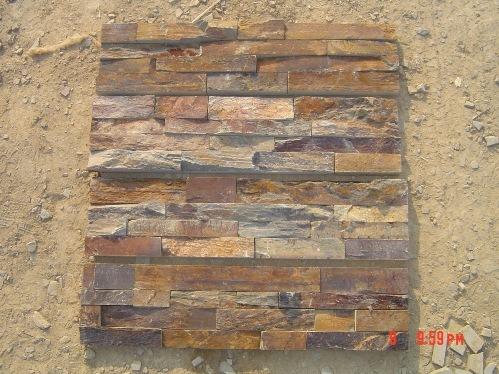 Piedra oxidada del apilado 055 piedra oxidada del - Piedra pizarra oxidada ...
