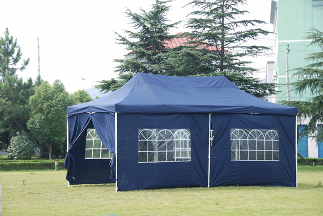 Tienda plegable del deber de gazebo marquee heay get705 for Gazebo plegable easy