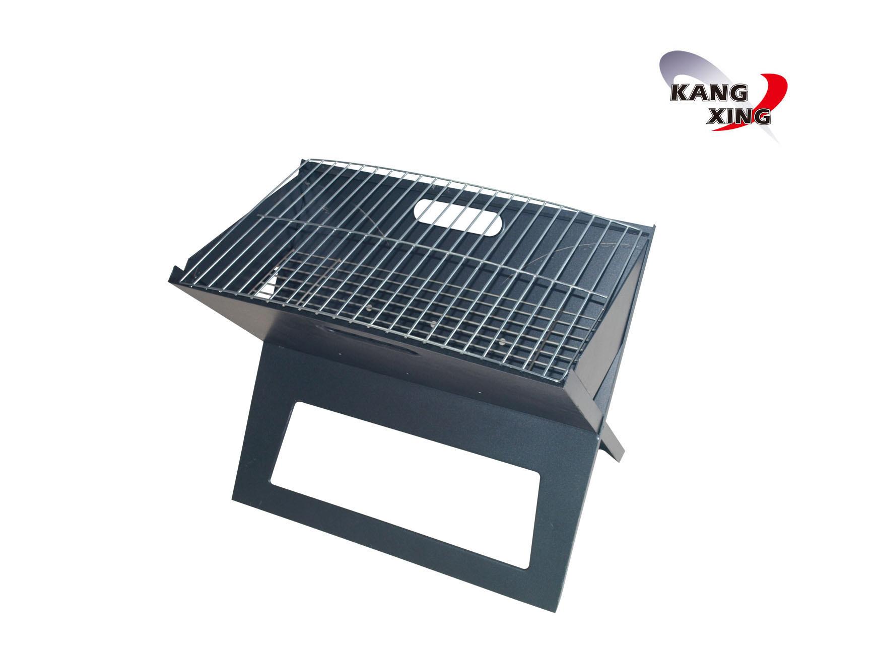X gril pliant le gril portatif de bbq de charbon de bois x gril pliant le gr - Barbecue portatif charbon ...