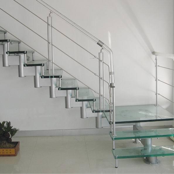 escalera de cristal de la quilla con pasos sh u escalera de cristal de la quilla con pasos sh por taizhou shilden stairs co