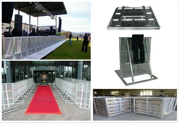 Pour la barri re en aluminium hj002 pour la barri re en for Barriere aluminium prix