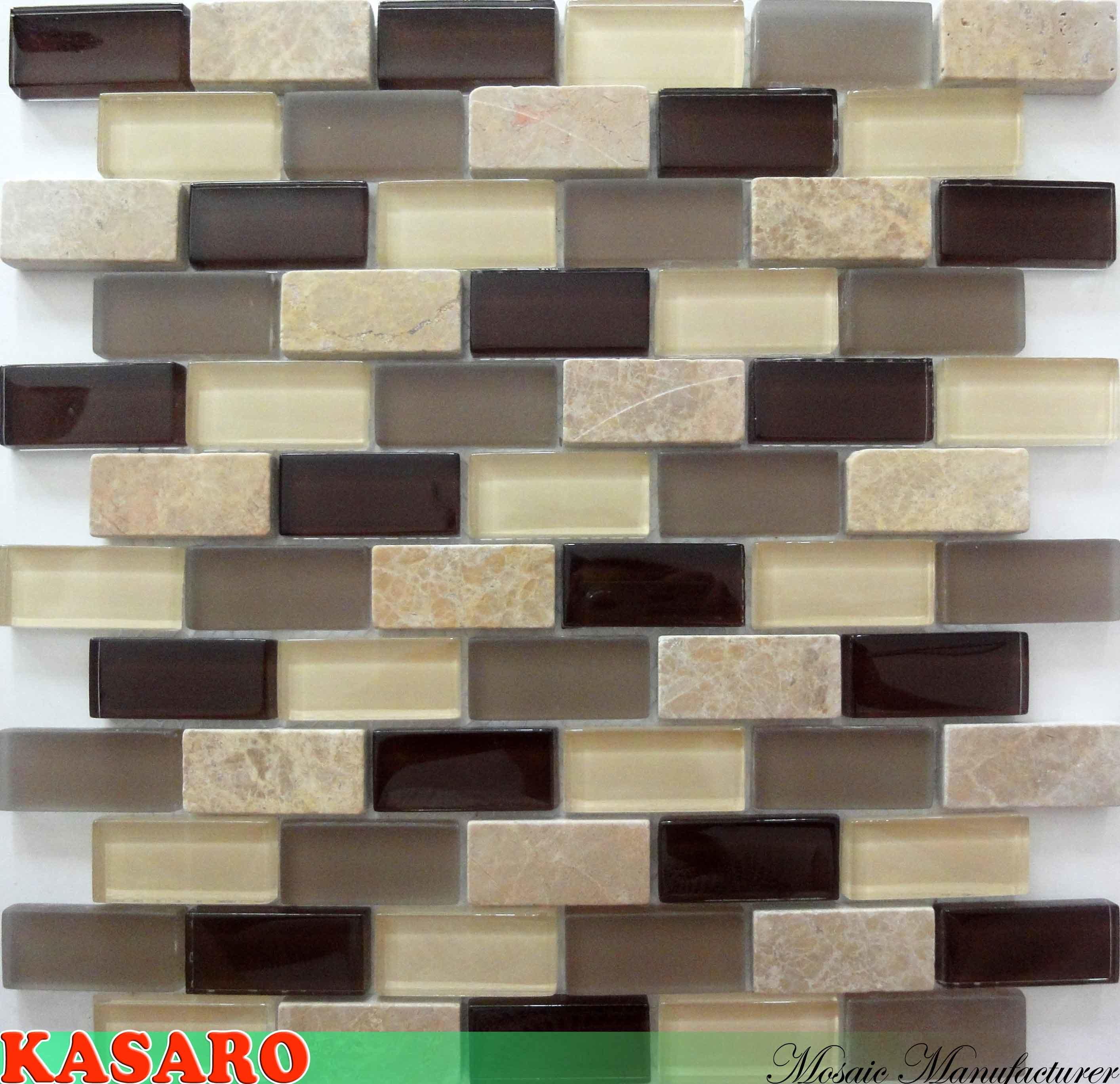 Foto de azulejos de la pared de la cocina del mosaico del - Azulejos de pared ...