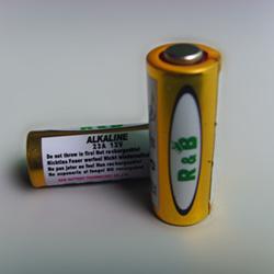 Угольно алюминиевая батарейка